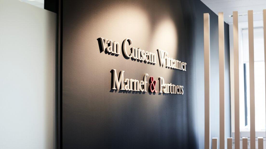 van Cutsem Wittamer Marnef & Partners About us